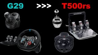 Switching from G29 to T500RS