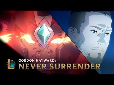 Gordon Hayward: Never Surrender | League of Legends (видео)