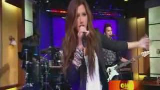 Ashley Tisdale - It's Alright It's Ok (Live on Good Morning America)