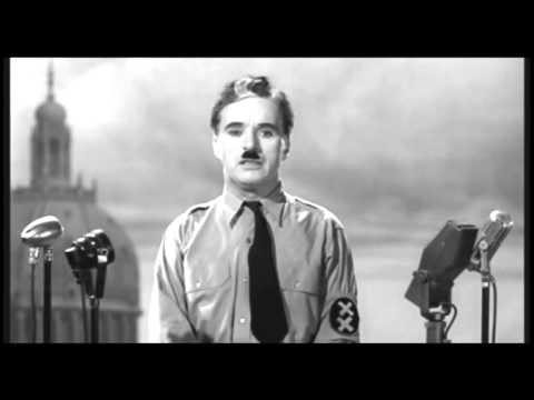 Charlie Chaplin's speech from the end of The Great Dictator