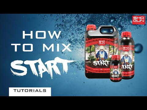 How to mix SHOGUN Start - A Young Plant Nutrient