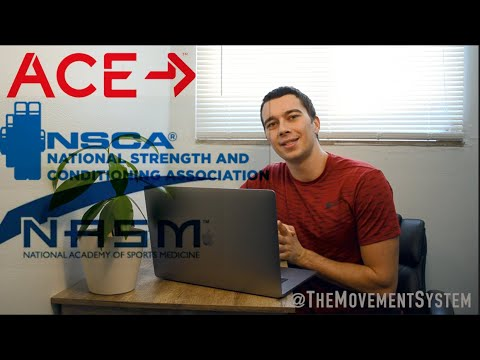 Top 3 Personal Training Certifications EXPLAINED - How to Get ...