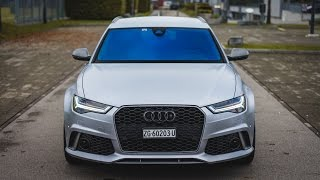 705PS AKRAPOVIC AUDI RS6 | TEST DRIVE