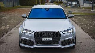 705PS AKRAPOVIC AUDI RS6 | TEST DRIVE