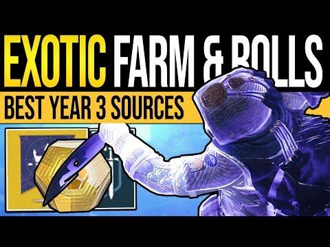 Destiny 2 | How to Get MORE Exotics! Ordeal Farm, Stat Rolls & Drop Changes (Shadowkeep & New Light)