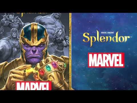 Gra planszowa Splendor Marvel