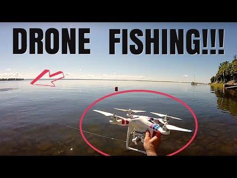 ŁOWIENIE RYB ZA POMOCĄ DRONA