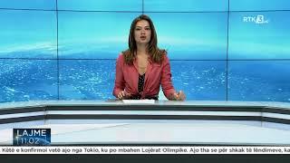 RTK3 Lajmet e orës 11:00 27.07.2021