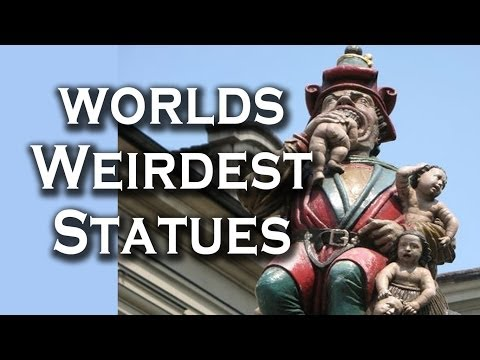 Top 10 Weirdest Statues On The Planet