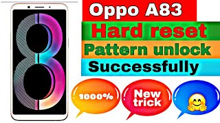 how to unlock pattern lock on android oppo a83 - TH-Clip