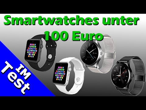 smartwatch 100 euro billig smartphone uhren. Black Bedroom Furniture Sets. Home Design Ideas