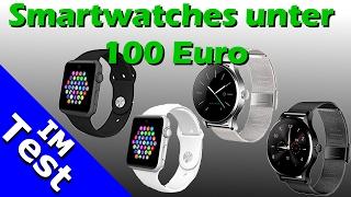 Smartwatches unter 100€ - Was taugen sie wirklich? Banaus B4 vs. Banaus BS19 im Review