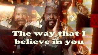 Barry White - JUST THE WAY YOU ARE ( High Quality Mp3 )