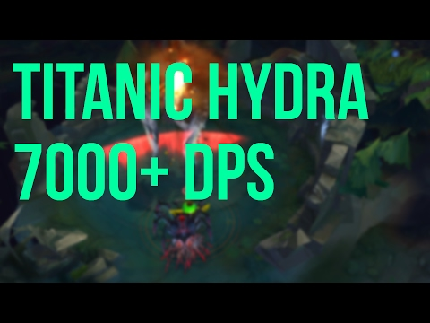 伊莉絲用泰坦九頭蛇 一擊斃殺 7000+HP 飛龍