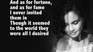 "Kseniia Isavnina - ""Don't Cry for me, Argentina"", Musical ""Evita"", Andrew Lloyd Webber (lyric video)"