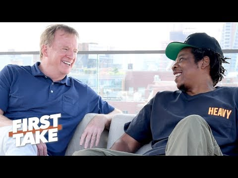 Eric Reid takes issue with Jay-Z's Roc Nation-NFL partnership | First Take