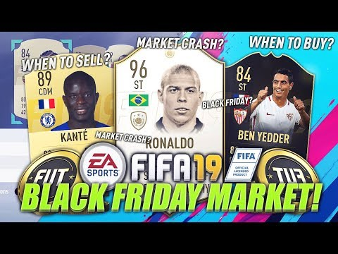 BEST TIME TO BUY? BLACK FRIDAY MARKET UPDATE #5 (FIFA 19 Ultimate Team)
