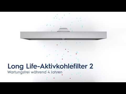 Einbau-Umluft-Flachschirmhaube von Electrolux