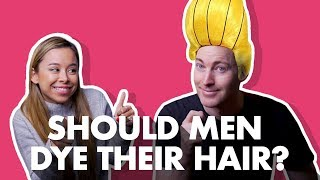 Should Men Dye Or Color Their Hair?