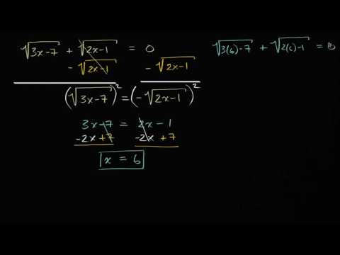 Solving square-root equations: no solution (video) | Khan Academy