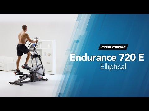 Endurance 720E Elliptical by ProForm