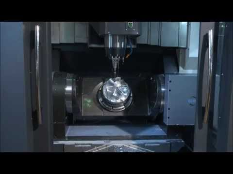 4 and 5 Axis Solutions from UCAM