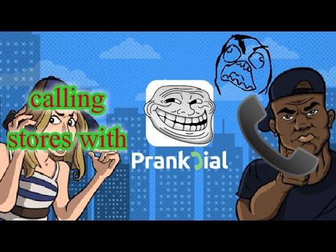 Calling restaurants with prank dial