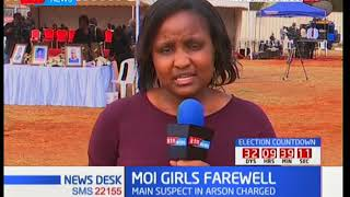 Requiem mass for the nine victims at Moi Girls held at the institution this morning 14th Sept 2017