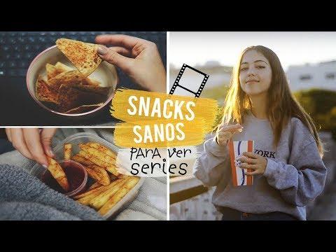 5 Snacks Saludables Para Ver Series En Cuarentena