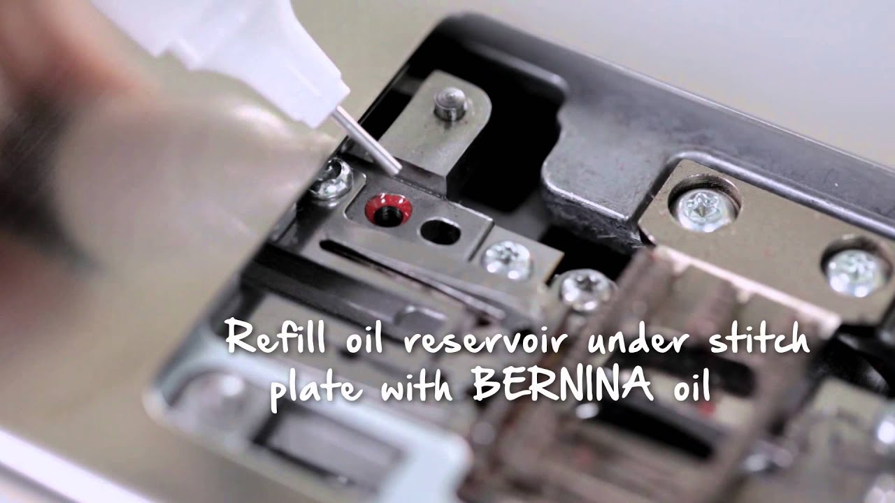 11/11 BERNINA 790: Care and cleaning