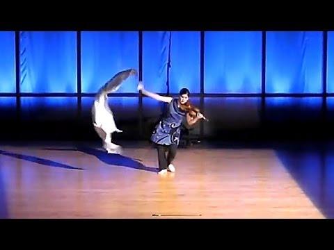 Maria Millar - Dancing Violinist - Tsuru (The Crane)