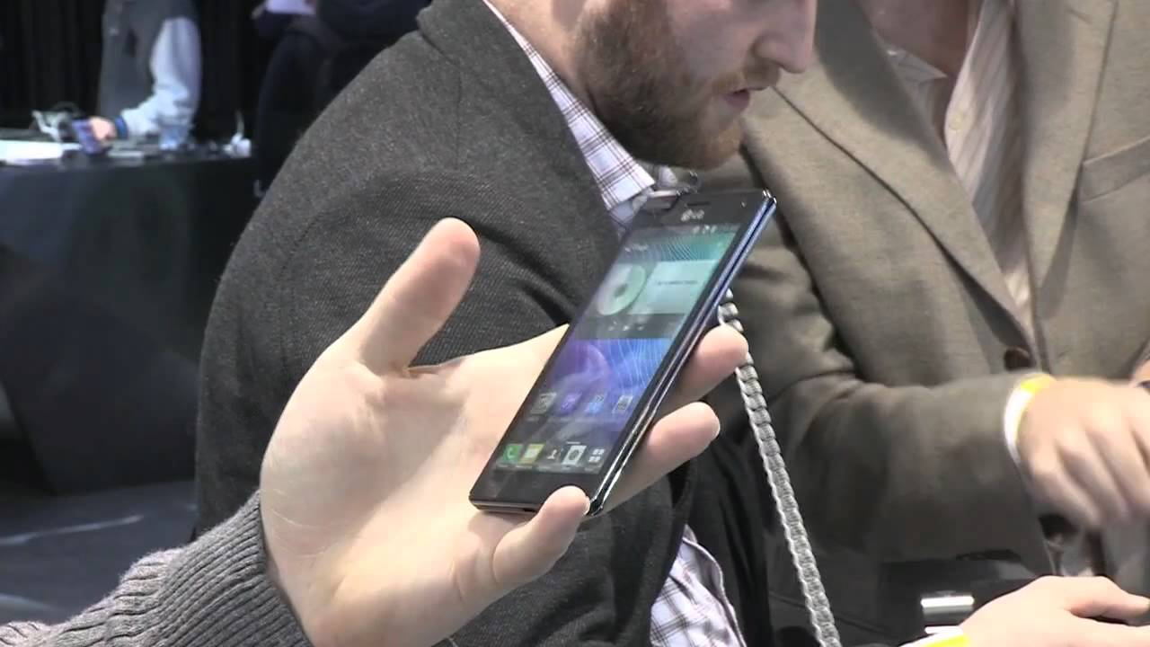 LG Optimus 4X hands-on video thumbnail