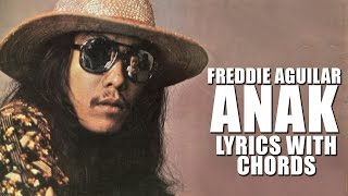 Freddie Aguilar — Anak [Official Lyric Video with Chords]