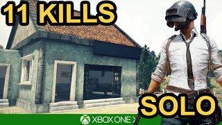 11 KILL SOLO WIN! - PUBG Xbox One X