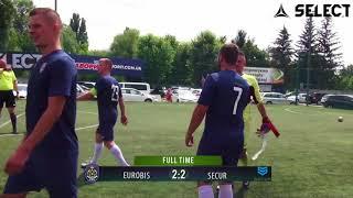 Bronze Divizion | EUROBIS - SECUR 2:2 (Обзор) #SFCK Street Football Challenge Kiev