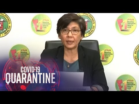 [ABS-CBN]  Department of Health gives COVID-19 updates (27 May 2020)