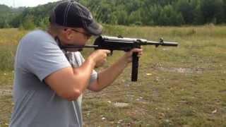 GSG mp40 22lr shooting review