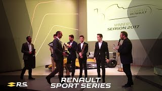 Renault Sport Series | 2017 Prize Giving Ceremony highlights