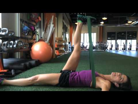 Assisted Hamstring Stretch