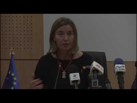 09 avril 2017 - Discours de La HRVP à l'Université d'Alger 3 pour les 30 ans d'ERASMUS