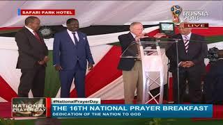 Uhuru-Raila bromance back on at prayer event