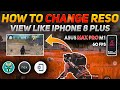 How To Change Screen Resolution View Like IPhone  8 Plus   Get 60 FPS In Asus Zenfone Max Pro M1