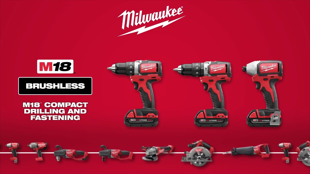 Milwaukee M18 Compact Drills