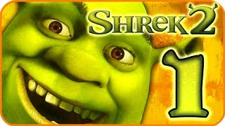 Shrek 2 Walkthrough Part 1 (PS2, XBOX, Gamecube) Team Action - 1: Shrek
