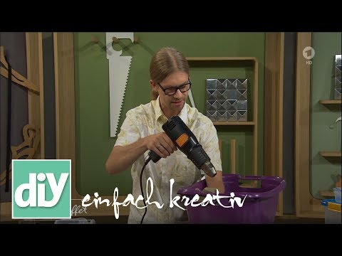 Plastik mit Hitze verschweißen | DIY einfach kreativ