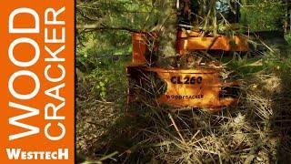видео товара Валочная головка на экскаватор Woodcracker Cl 260