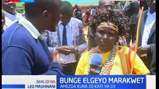 Bunge Elgeyo Marakwet: Philemon Kiplagat amechaguliwa spika