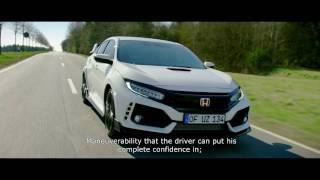 Honda 2017 Civic Type R sets new Front-wheel drive lap record at Nürburgring