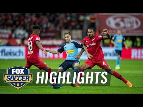 Bayer Leverkusen vs. Monchengladbach | 2019 Bundesliga Highlights