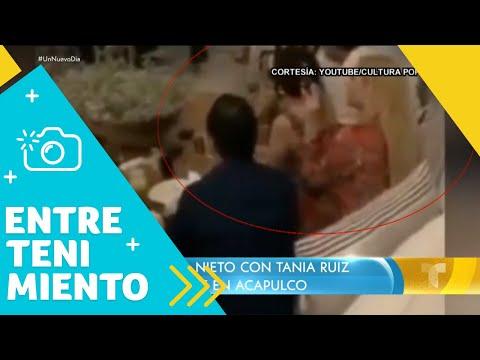 Captan a Enrique Peña Nieto con Tania Ruiz en Acapulco   Un Nuevo Día   Telemundo